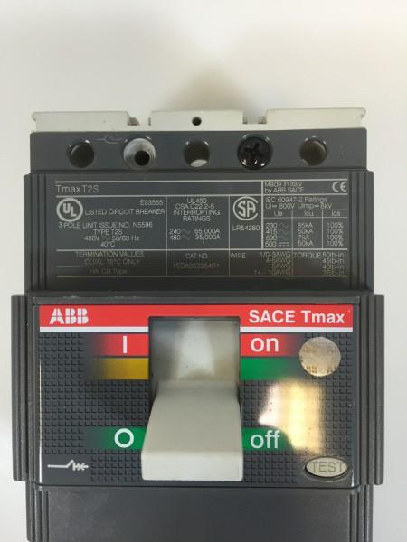 abb sace t2s tmax 80 amp leistungsschalter low voltage