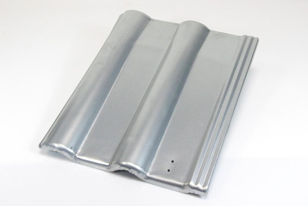 blechziegel metall dachpfanne solar pv frankfurter pfanne verzinkt heimwerker. Black Bedroom Furniture Sets. Home Design Ideas