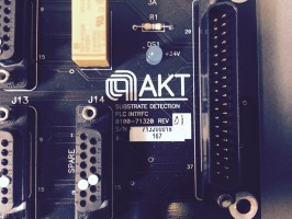 AMAT Applied Materials AKT  0100-71320 Rev.01 SUBSTRATE DETECTION PLC INTERFACE – Bild 2