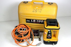 Laser Alignment - Rotationslaser Baulaser LASER BEACON LB - 100 4910 + Zieltafel – Bild 1