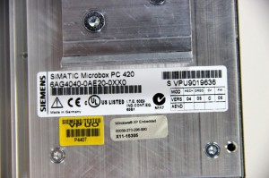 SIEMENS - Simatic Microbox PC 420 - 650MHz 256MB 1GB FC - 6GA4040-0AE20-0XX0 – Bild 3